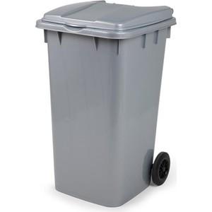 bora çöp kovası gri 120 lt - bo 997