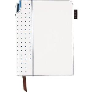cross medium beyaz&mavi çizgili defter ac236-6m