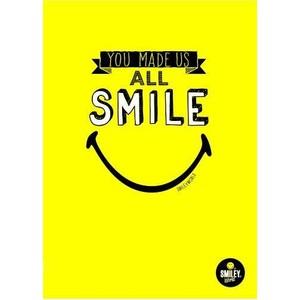 my note smiley campus defter 26 x 18,5 40 yaprak kareli defter smıley6020-k