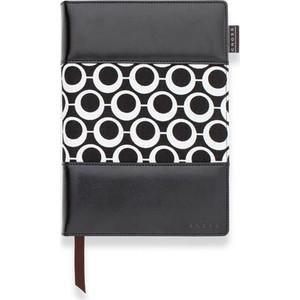 cross signature siyah medium çizgili defter ac248-1m