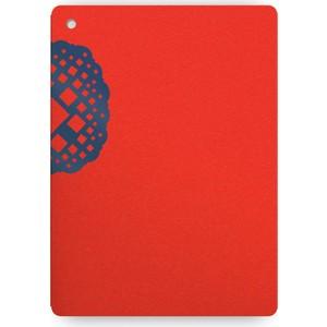 knock knock kırmızı üstüne mavi defter 31036