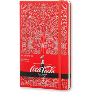 moleskine limited edition coca cola l boy çizgili ciltli defter