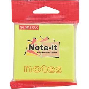 globox yapışkanlı not kağıdı 75 x 75 mm 6630