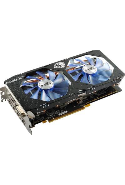 HIS Amd Radeon RX580 ICEQX2 OC 8GB 256 Bit GDDR5 (DX12)PCI-E3.0 Ekran Kartı (HS-580R8LCBR)