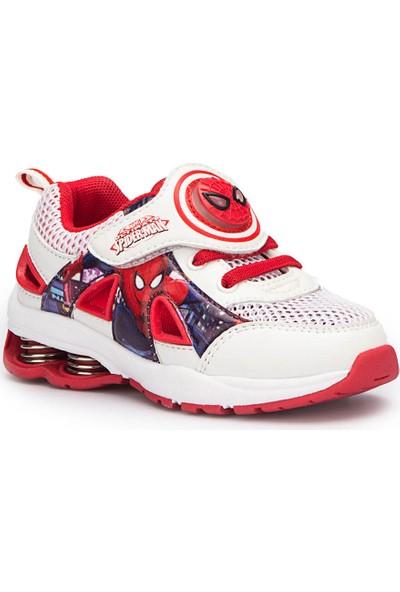 Spiderman Diamo Beyaz Erkek Çocuk Athletic Ayakkabı