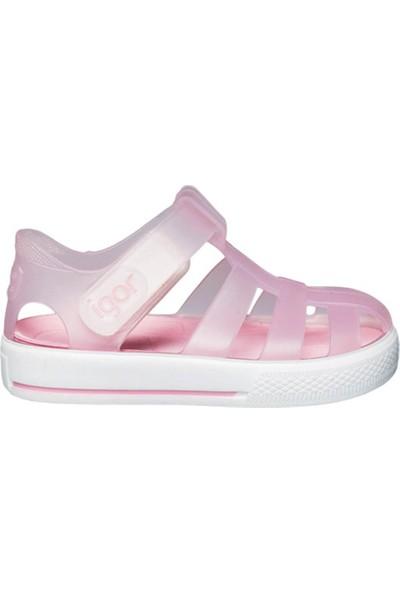Igor S10171-Ö52 Fuşya Kız Çocuk Sandalet