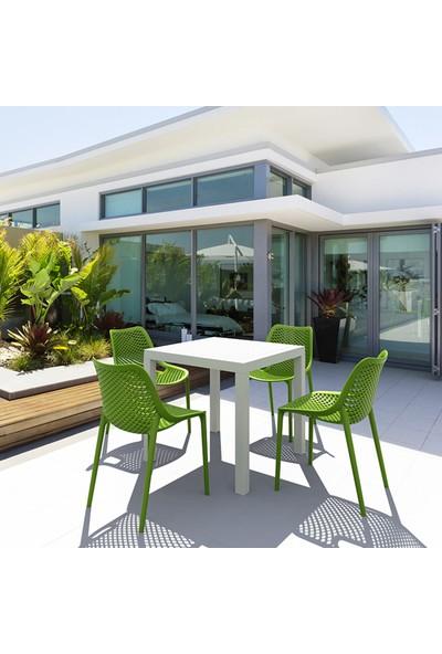 Siesta Contract Air Sandalye - Tropik Yeşil