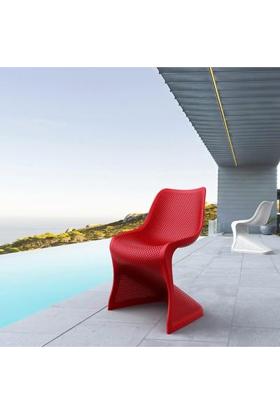 Siesta Contract Bloom Sandalye - Kırmızı