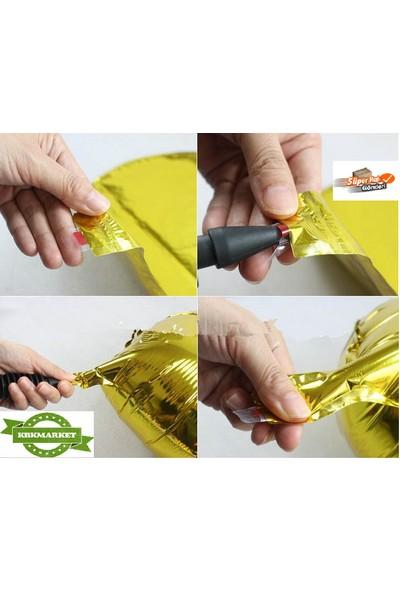 Kbkticaret G Harf Balon 100 Cm Altın Ve Gümüş Seçenekleriyle