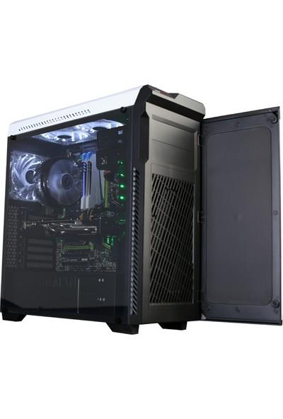 Zalman Z9Neo-Plus_White ATX Mid Tower Beyaz Kasa 2xUSB 2.0 2xUSB 3.0 1xMikrofon 1xKulaklık PCI/Agp 420Mm