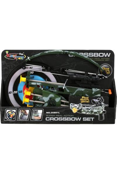 Sunman 1035881 Sun Ok Set Crossbow Askeri 4Vak.Ok/Sadak/Hedefli