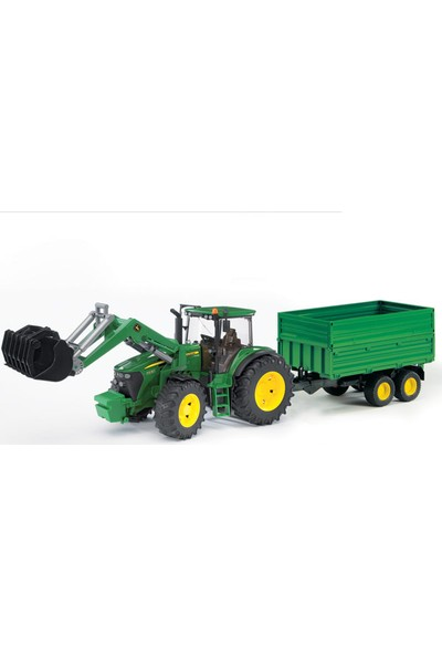 Bruder Br03055 Kepçeli Traktör Ve Römork-John Deere 7930