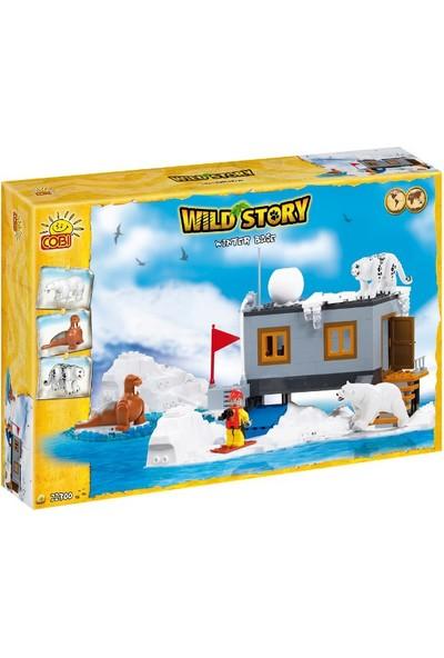 Cobi 22300 Cobi Winter Base 300Pcs Wild Story