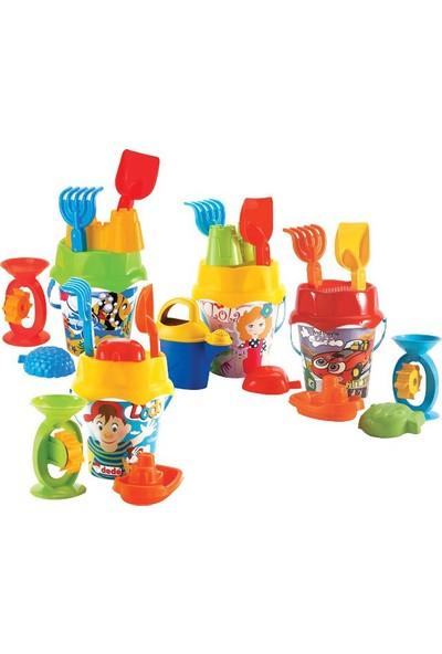 Fen Toys 01589 Resimli Orta Aks.Kova Set