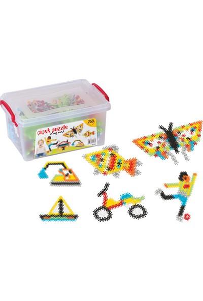 Fen Toys 03143 Çiçek Puzzle Küçük Box 240 Parça