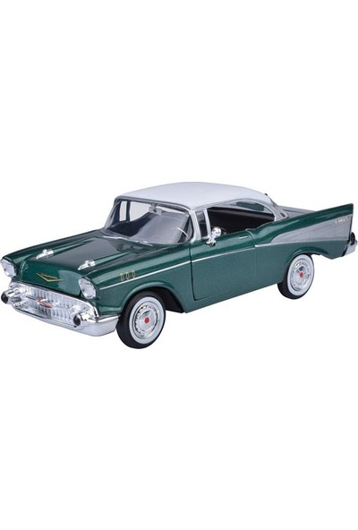 Vardem73228Ac 1:24 1957 Chevy Bel Aır