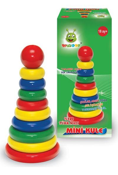 Karsan Oyuncak 008Kr Woodoy Mini Kule