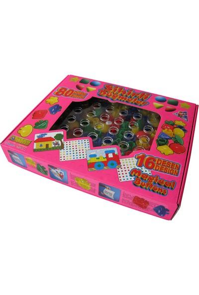 Akçiçek Oyuncak 037 Sihirli Düğmeler