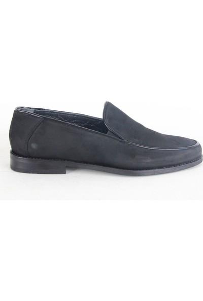 King West 103 Klasik Erkek Ayakkabı Siyah