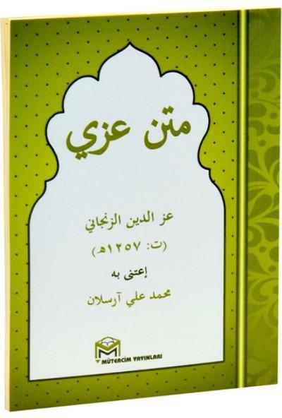 Metni İzzi (Arapça, Cep Boy)