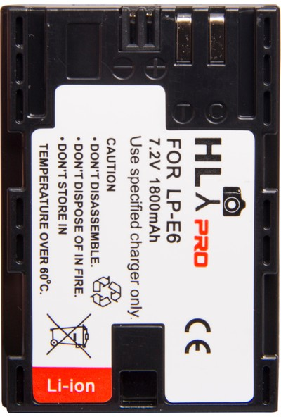 Hlypro Canon Lp-E6 Batarya