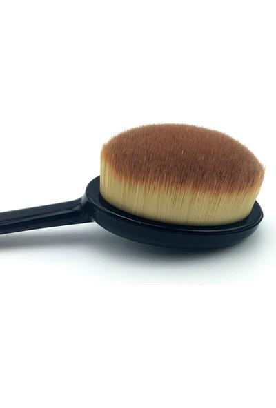 Makyaj Fırçası Kapaklı - Fondöten Fırçası