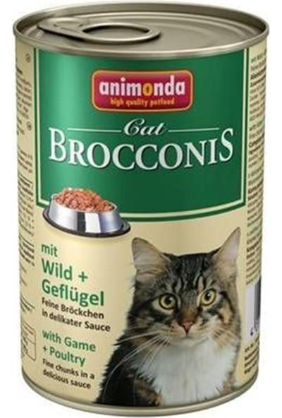 Animonda Brocconis Av Hayvanlı Yetişkin Kedi Konservesi 400 Gr