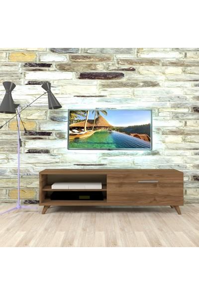 Nur Mobilya 140 Cmpolen Tv Sehpası Ceviz