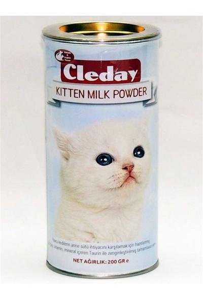Cleday Yavru Kediler İçin Süt Tozu Besin Takviyesi 200 gr