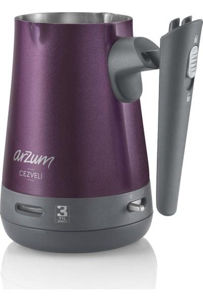 Arzum AR3033 Cezveli Türk Kahvesi Makinesi - Mürdüm