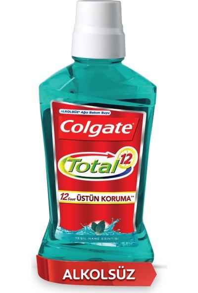 Colgate Total Yeşil Nane Esintisi Alkolsüz Gargara 500 ml