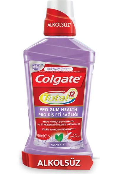 Colgate Total Pro Diş Eti Sağlığı Alkolsüz Gargara 500 ml