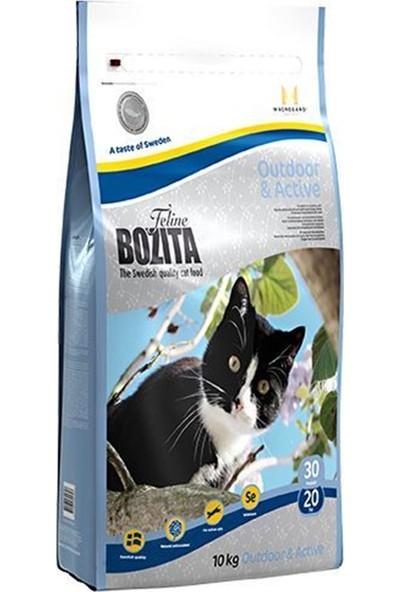 Bozita Outdoor-Active İsveç Tavuk Ve Geyik Etli Yetişkin Kedi Maması 10 Kg