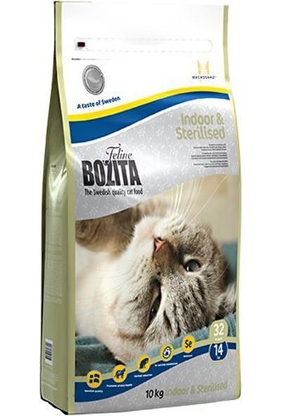 Bozita Indoor - Sterilised İsveç Tavuk Etli Kısırlaştırılmış Kedi Maması 10 Kg