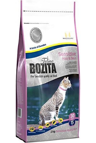 Bozita Hair - Skin İsveç Tavuk Ve İskandinav Somonlu Yetişkin Kedi Maması 2 Kg