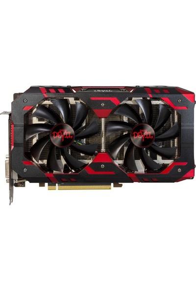 Powercolor Red Devil AMD Radeon RX580 8GB 256Bit GDDR5 O.C Ekran Kartı (PWR-RD-RX5808GB)