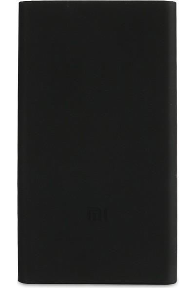 Case 4U Xiaomi 10000 mAh (Versiyon 2) Taşınabilir Şarj Cihazı Silikon Kılıf Siyah