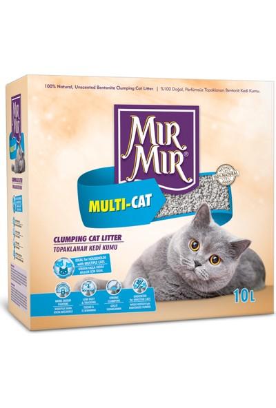Mır Mır Bentonite Multicat Kedi Kumu 10Lt