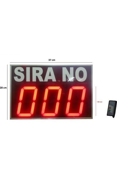 Gimax Uzaktan Kumandalı Sayıcı Sıramatik 100 Mm'Lik Display