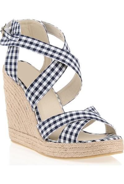 Pedro Camino Weekend Kadın Günlük Ayakkabı 22347 Mavi-Beyaz