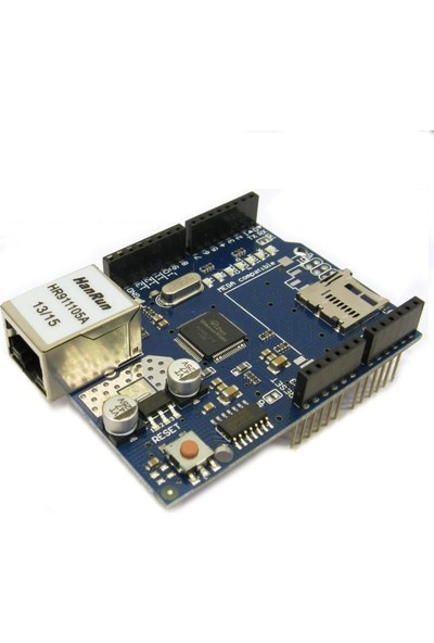 Arduino Ethernet Shield W5100 SD Kart Okuyuculu