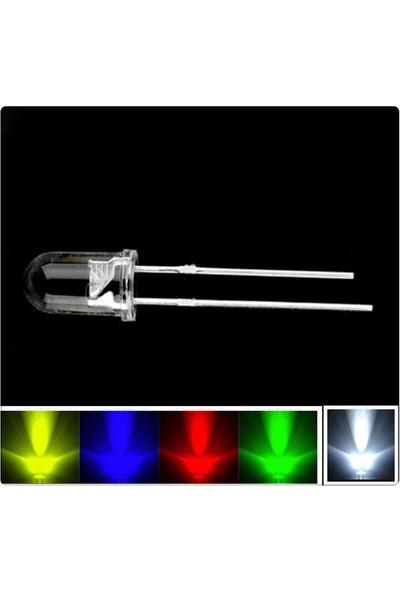 LED Seti 10Adet Kırmızı Sarı Yeşil Mavi Beyaz 5mm
