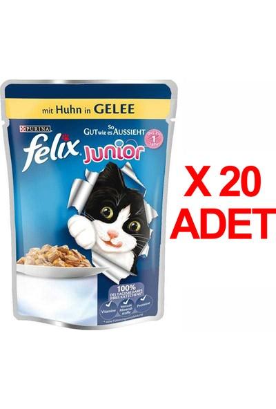 Felix Yavru Kedi Maması Poush 100 Gr X 20 Adet