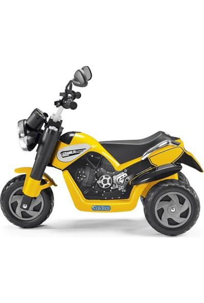 Peg Perego Scrambler Ducati Akülü Motor 6 Volt