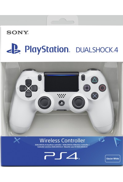Sony Ps4 Dualshock 4 V2 Gamepad Yeni Nesil Kol (Beyaz) Teşhir