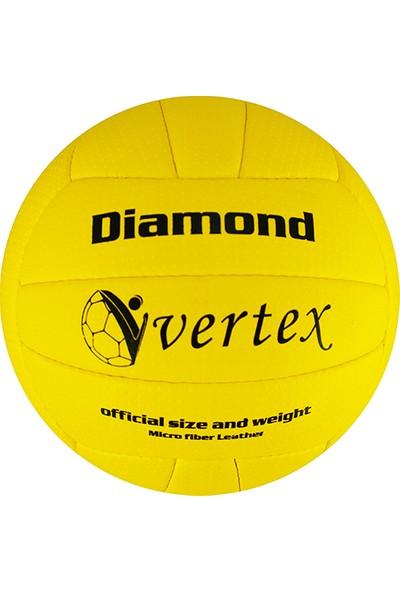 Vertex Diamond Dikişli 5 No Voleybol Topu Sarı