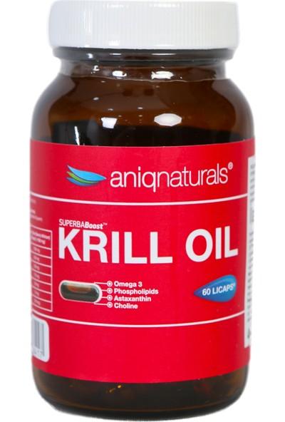 Superba Boost Krill Oil 60 Licaps Glass Jar