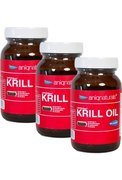 Superba Boost Krill Oil 60 Licaps Glass Jar 3 Adet