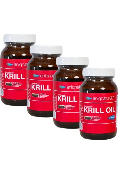 Superba Boost Krill Oil 60 Licaps Glass Jar 4 Adet