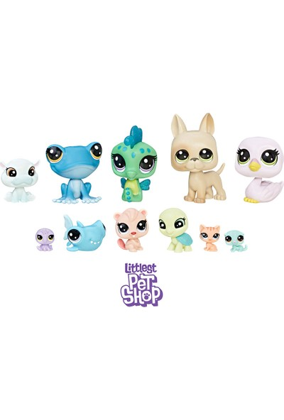 Hasbro Littlest Pet Shop Miniş Koleksiyoner Oyun Seti